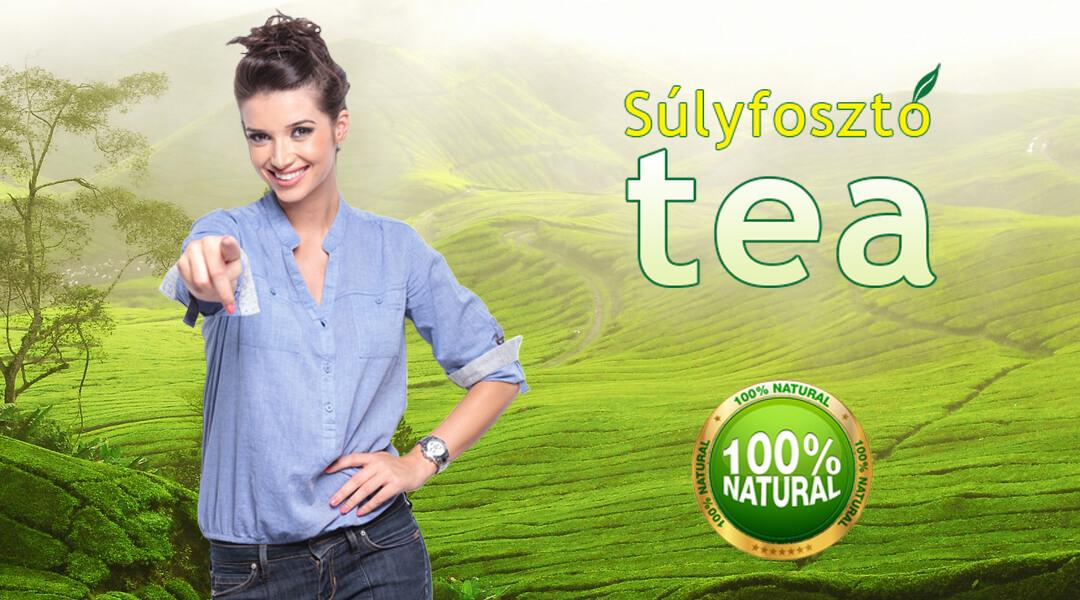 fogyókúrás tea reklám)